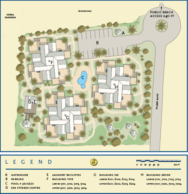 Images Of Google Site Map: Reef Residences On Grace Bay